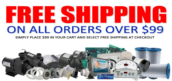 Free Shipping for all orders over $99