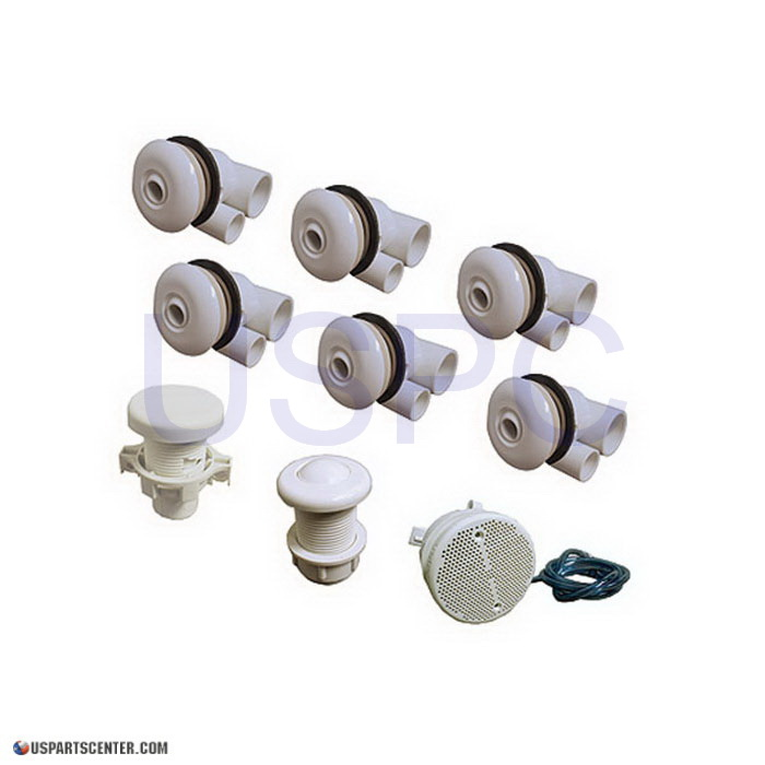 Jetting Kit Marble Tub 6 Jets Air Button Air Control