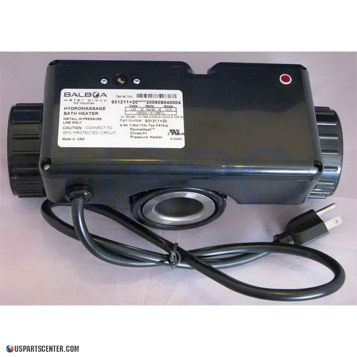 Hydro Products Tee Heater 1 5kw 120v 12 784 4430
